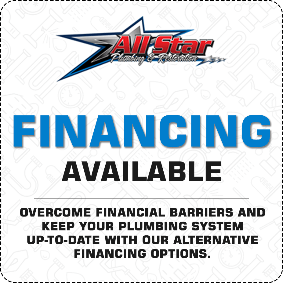 Various financing options available
